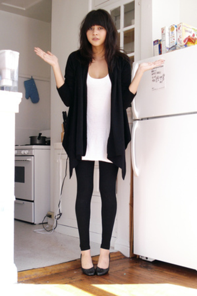 the gallery for gt how to wear leggings with flats